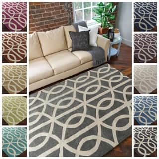 Hand-Tufted Dover Crosshatched Rug (5' x 7'6)|https://ak1.ostkcdn.com/images/products/9969958/P17122789.jpg?impolicy=medium