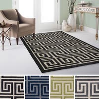 """Hand-Tufted Essex Crosshatched Area Rug - 5' x 7'6"""""""