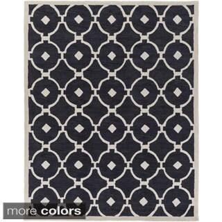 Hand-Tufted Grays Moroccan Trellis Rug (7'6 x 9'6)|https://ak1.ostkcdn.com/images/products/9969982/P17122812.jpg?_ostk_perf_=percv&impolicy=medium