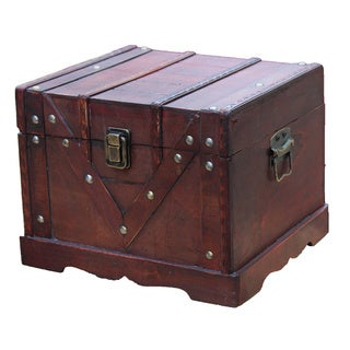 Old Style Treasure Chest - cherry