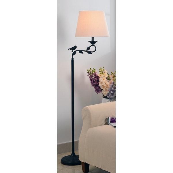 The Gray Barn Red Sky Oil Rubbed Bronze 1-light Swing Floor Lamp
