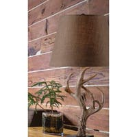 Big Buck Brown 29-inch Table Lamp