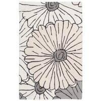 Rug Squared Laurel Ivory/Multicolor Rug (1'9 x 2'9)
