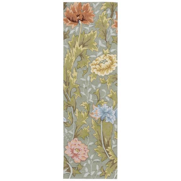 Rug Squared Laurel Slate Rug (2'3 x 8')