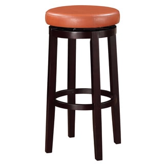 Linon Dorothy Backless Bar Stool with Tuscany Swivel Seat
