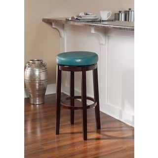 Shop Linon Dorothy Backless Counter Stool Black Swivel