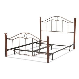 Cassidy Powder-Coated Steel Bed by Fashion Home