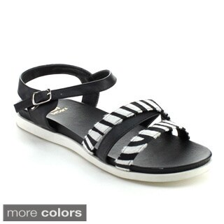BETANI ANISA-1 Women's Ankle Strap Beach Sandals