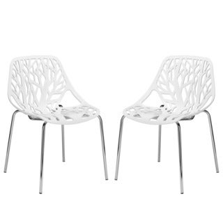 Poly and Bark Birds Nest Dining Chair (Set of 2)