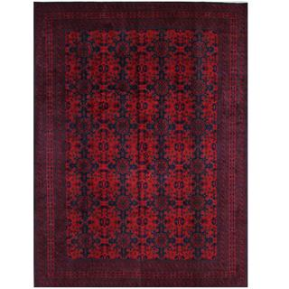 Herat Oriental Afghan Hand-knotted Tribal Khal Mohammadi Wool Rug (8'3 x 11'3)