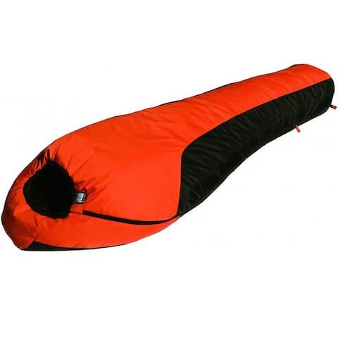 High Peak Outdoors Mt. Rainier 20-degree Sleeping Bag - Orange