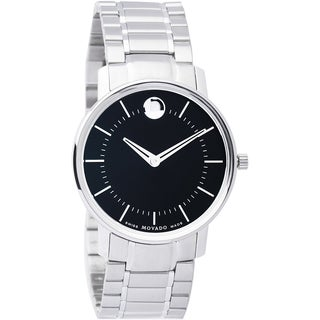 Movado Women's 'Movado TC' Stainless Steel Swiss Quartz Watch