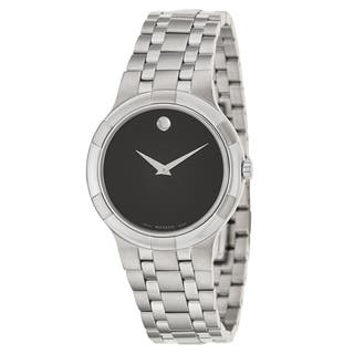 Movado Men's 'Metio' Stainless Steel Swiss Quartz Watch|https://ak1.ostkcdn.com/images/products/9971119/P17124073.jpg?impolicy=medium