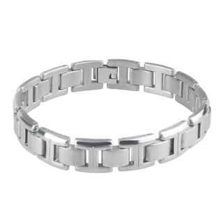 Vance Co. Titanium Men's Polisehd Link Bracelet