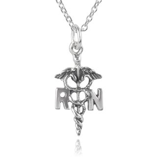 Journee Collection Sterling Silver Kundalini Serpent RN Necklace