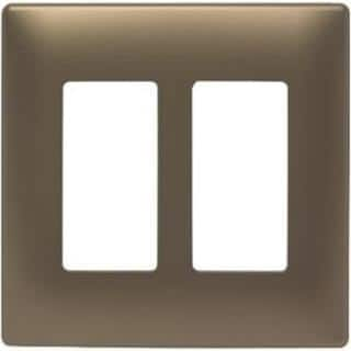 Pass & Seymour Two-Gang Screwless Decorator Wall Plate, Antique Brass https://ak1.ostkcdn.com/images/products/9971642/P17124549.jpg?impolicy=medium