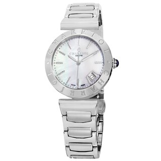 Charriol Women's AMS.920.002 'Alexandre C' Mother of Pearl Dial Stainless Steel Swiss Quartz Watch