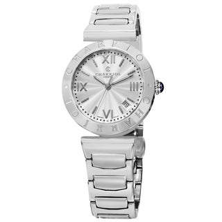 Charriol Women's AMS.920.001 'Alexandre C' Silver Dial Stainless Steel Swiss Quartz Watch