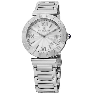 Charriol Men's ALS.930.101 'Alexandre' Silver Dial Stainless Steel Swiss Quartz Bracelet Watch