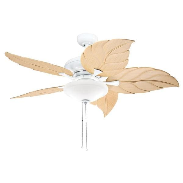 Kichler Lighting Casual White 52 Inch Ceiling Fan With 2