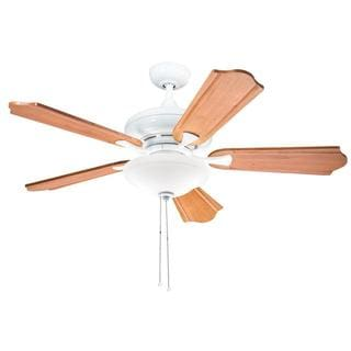 Kichler Lighting Traditional White 52 inch Ceiling Fan with 2-light Kit