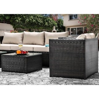 Furniture of America Stella 5-Piece Outdoor Sofa Set