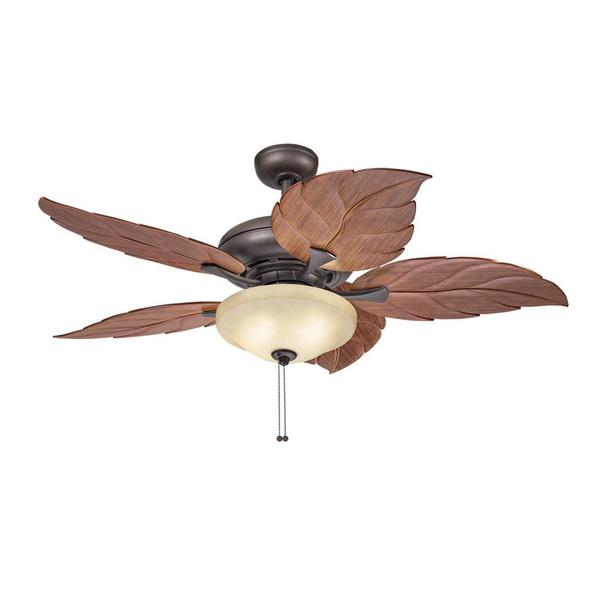 Kichler Lighting Casual Bronze 52 inch Ceiling Fan with 2-light Kit - Free Shipping Today ...