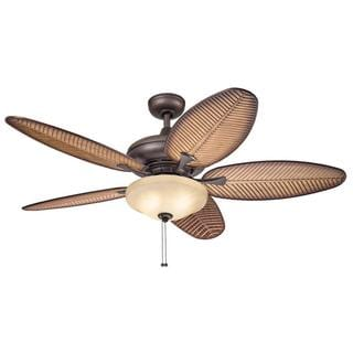 Kichler Lighting Casual Bronze Ceiling Fan with 2-light Kit