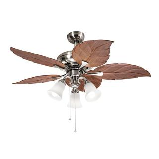 ceiling fan and light. kichler lighting casual brushed nickel 52 inch ceiling fan with 3-light kit and light