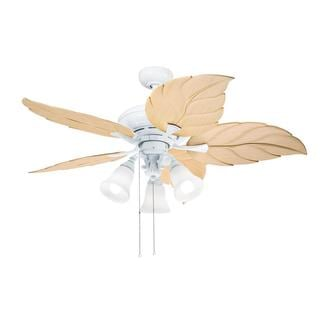 Kichler Lighting Transitional White 52 inch Ceiling Fan with 3-light Kit