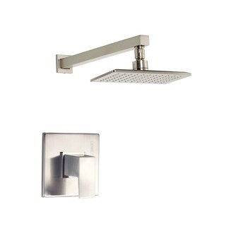 Danze 1H Trim Shower Only Mid-town Lever Handle 2.5 Gpm Brushed Nickel Showerhead