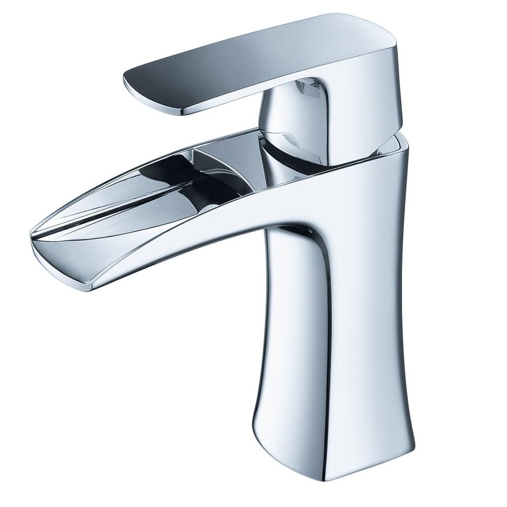 Fresca Fortore Single Hole Mount Bathroom Vanity Faucet Chrome Overstock 9972447