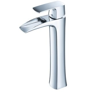 Fresca Fortore Single Hole Vessel Mount Bathroom Vanity Faucet Chrome