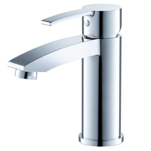 Fresca Livenza Single Hole Mount Bathroom Vanity Faucet Chrome