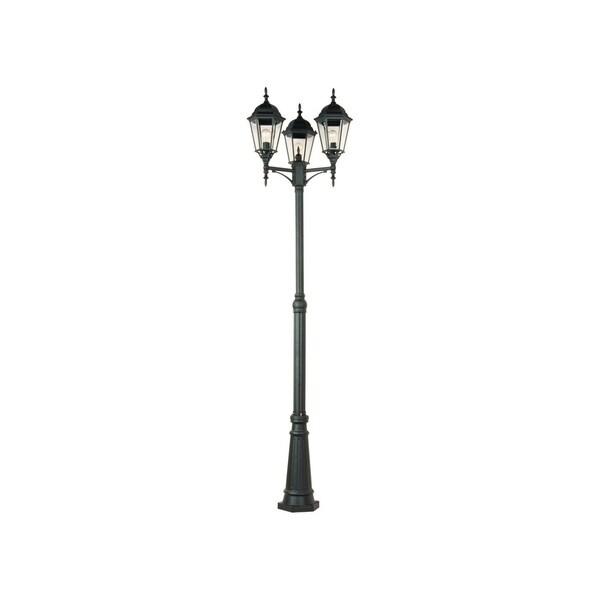 Shop Maxim Poles 3-light Outdoor Pole/ Post Mount