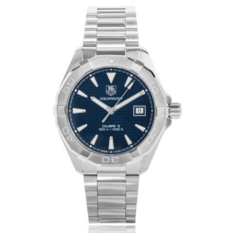Tag Heuer Men's WAY2112.BA0910 'Aquaracer Calibre 5' Stainless Steel Watch