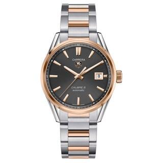 Tag Heuer Men's WAR215E.BD0784 'Carrera Calibre 5' Stainless Steel Watch