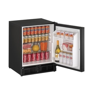U-Line ADA Series- 21 Inch ADA Compliant Black Door All Refrigerator w/ Lock