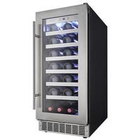 Danby Silhouette Professional Series- 15 Inch Stainless Steel  Integrated Wine Cooler