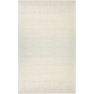 Couristan Madera Dexter/Off White Area Rug - 5'6 x 8'
