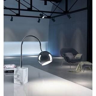 Run Chrome Table Lamp
