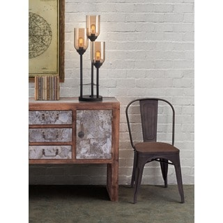 Jump Rust and Amber Table Lamp