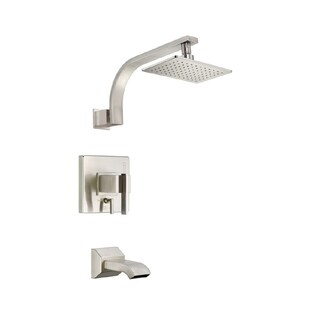 Danze Sirius Tub and D510044BNT Brushed Nickel Shower Faucet