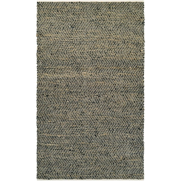 Couristan Nature's Elements Ice/Black Area Rug - 5' x 8'