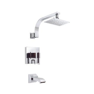 Danze Sirius Tub and D510044T Polished Chrome Shower Faucet