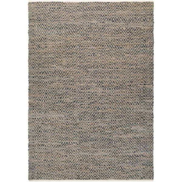 Couristan Nature's Elements Terrain/Natural Brown-Stone Area Rug - 6' x 9'