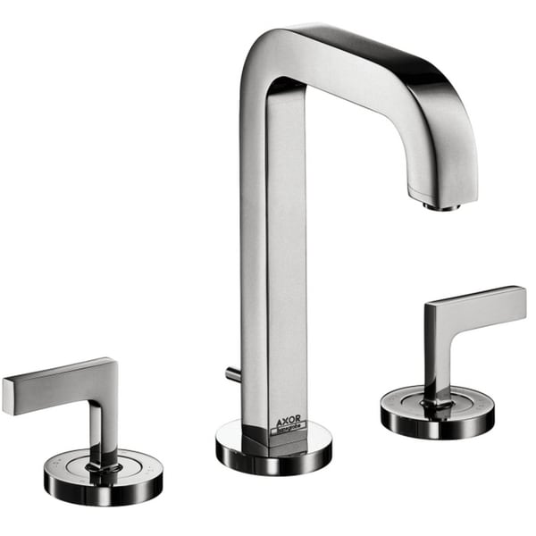 Hansgrohe AXOR Citterio Chrome Widespread Faucet with Lever Handle