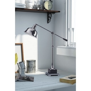 Flip Chrome Table Lamp