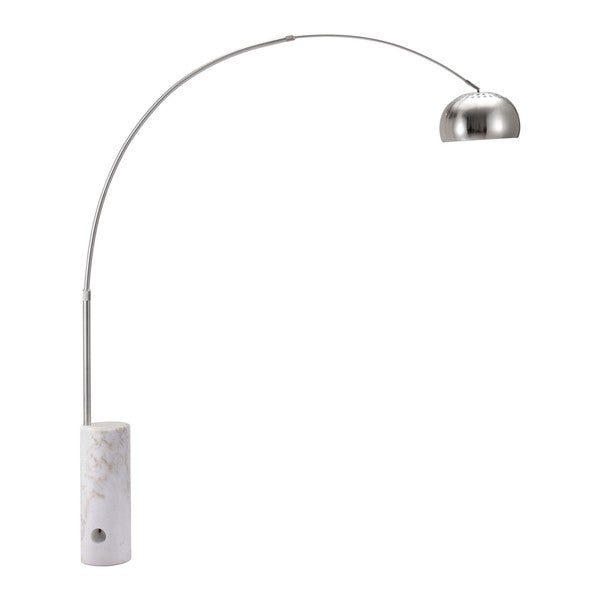 Shop Trion Satin Floor Lamp Free Shipping Today