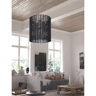 Whitney Black Ceiling Lamp